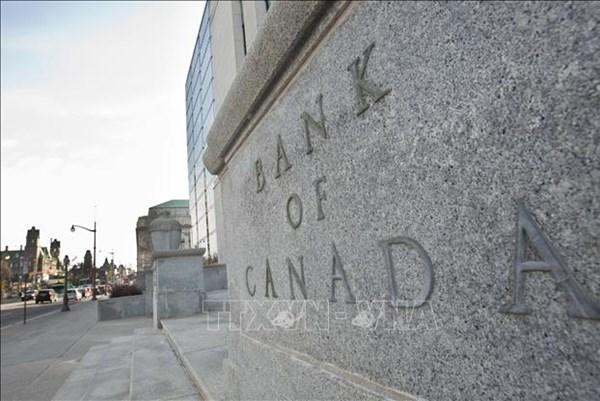 Ngân hàng trung ương Canada giữ nguyên lãi suất chủ chốt và lạc quan về triển vọng kinh tế