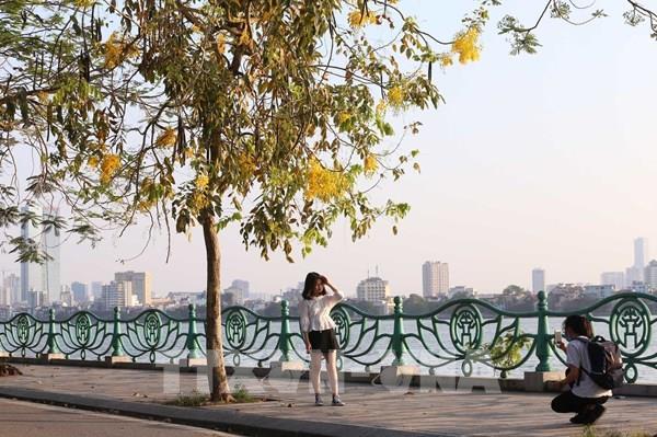 Chất lượng không khí Hà Nội được cải thiện rõ trong tháng 5