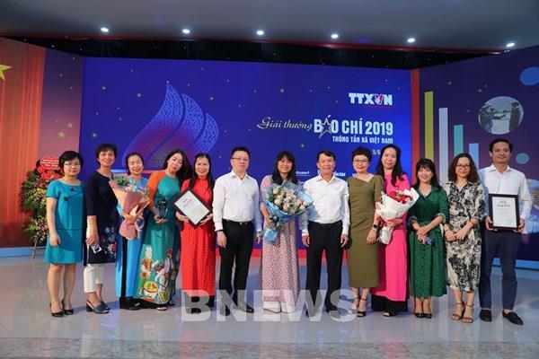 Giải báo chí TTXVN năm 2019: Tạo sức mạnh tổng hợp của nhiều loại hình thông tin