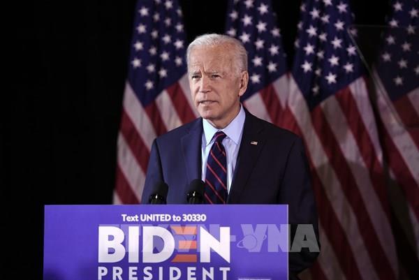 Ông Joe Biden chính thức trở thành ứng cử viên của đảng Dân chủ