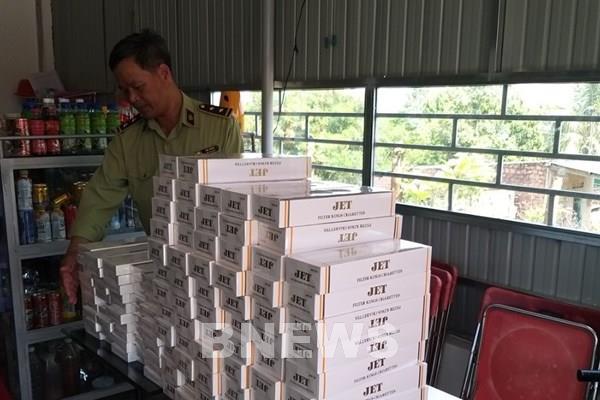 Gia Lai xử phạt 7 cơ sở bán hàng cấm là thuốc lá điếu nhập lậu