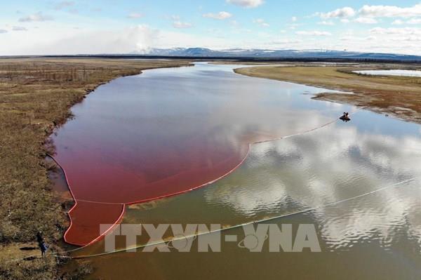 Thiệt hại về môi trường do sự cố tràn dầu Norilsk là hơn 2 tỷ USD