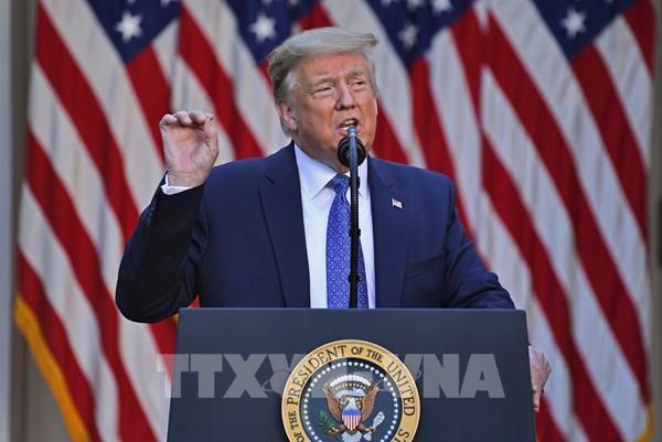 Tổng thống Mỹ muốn triển khai 10.000 quân tại thủ đô Washington
