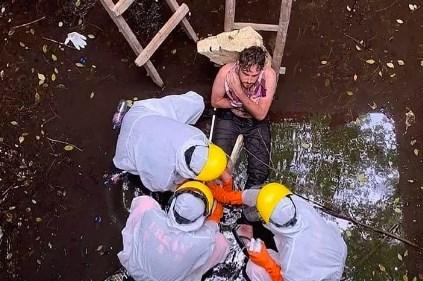 Cứu sống một công dân Anh bị mắc kẹt dưới giếng 6 ngày