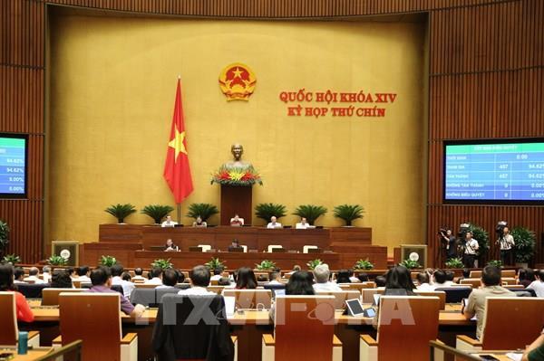 Quốc hội thông qua Nghị quyết phê chuẩn Hiệp định EVFTA và EVIPA