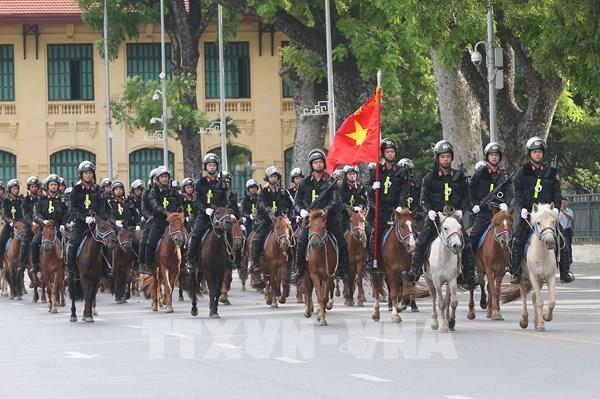 Bộ Công an cho ra mắt lực lượng Cảnh sát cơ động kỵ binh