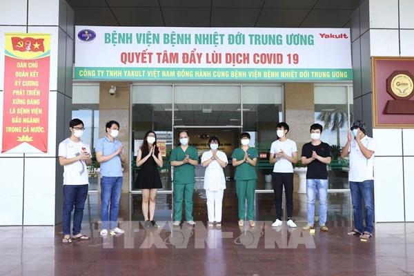 Cập nhật COVID tại Việt Nam: Thêm 9 bệnh nhân được công bố khỏi bệnh