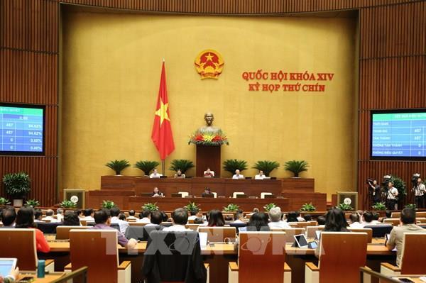 Kỳ họp thứ 9, Quốc hội khóa XIV: Trình dự kiến nhân sự Chủ tịch Hội đồng bầu cử quốc gia