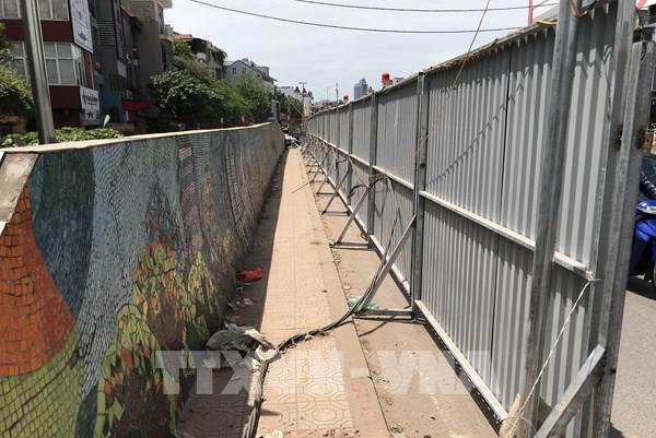 Hà Nội phá dỡ một đoạn Con đường gốm sứ để mở rộng giao thông