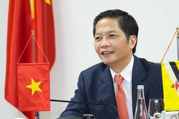 Việt Nam-Brunei hợp tác để mở cửa sớm các tuyến đường kết nối thương mại