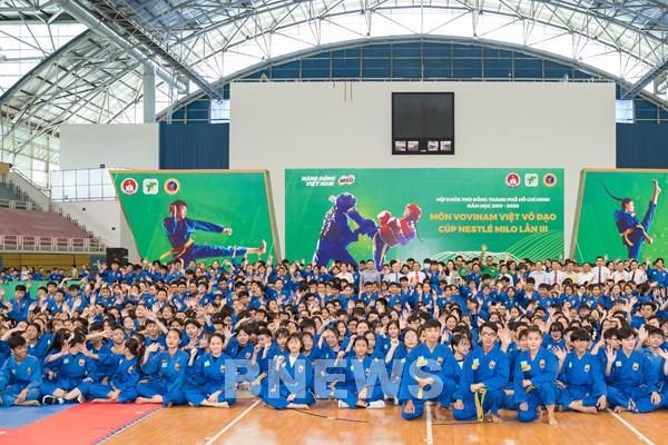 Hội khỏe Phù Đổng môn Vovinam Việt Võ Đạo – Cúp Nestlé MILO lần III