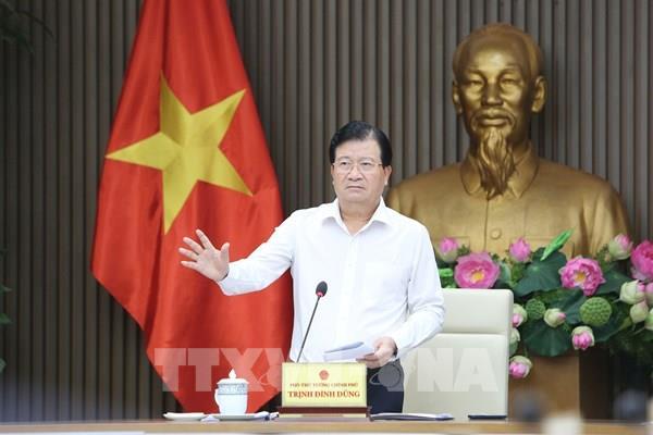 Phó Thủ tướng Trịnh Đình Dũng: Rà soát các khu vực nguy hiểm, sơ tán dân, không để bị động