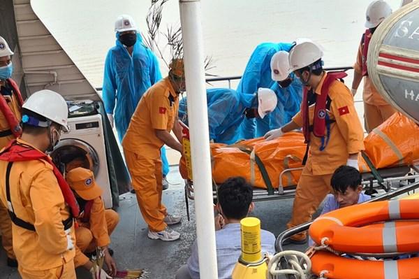 Thông tin tiếp về vụ việc cứu nạn tàu cá TH 90282 TS va chạm với tàu Annie Gas 09