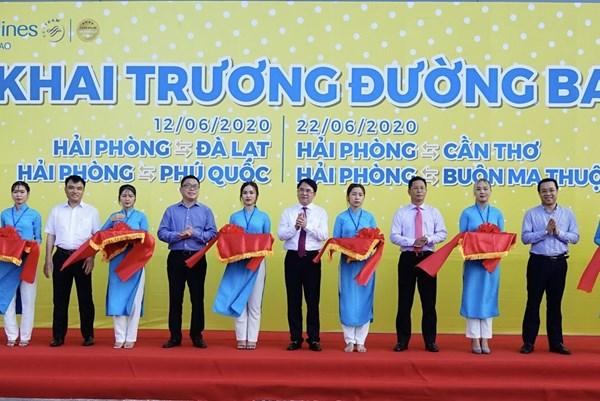 Vietnam Airlines khai trương 7 đường bay mới kết nối Vinh, Hải Phòng với các tỉnh, thành