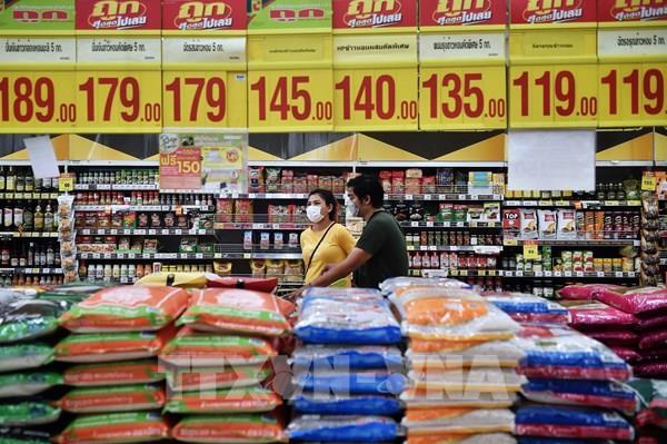 Thị trường nông sản: Giá gạo Thái thấp nhất kể từ đầu tháng 3/2020