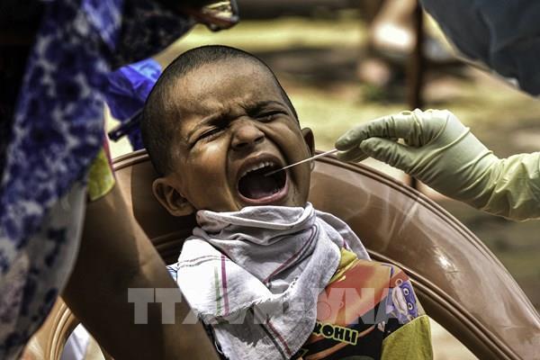 Ấn Độ ghi nhận thêm hơn 11.000 ca nhiễm COVID-19 mới