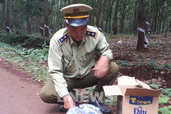 Quản lý thị trường Bình Phước tạm giữ 1,75 kg pháo nổ
