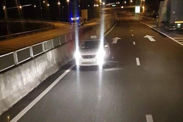 Liên tiếp phát hiện ô tô chạy ngược chiều trên cao tốc Đà Nẵng - Quảng Ngãi