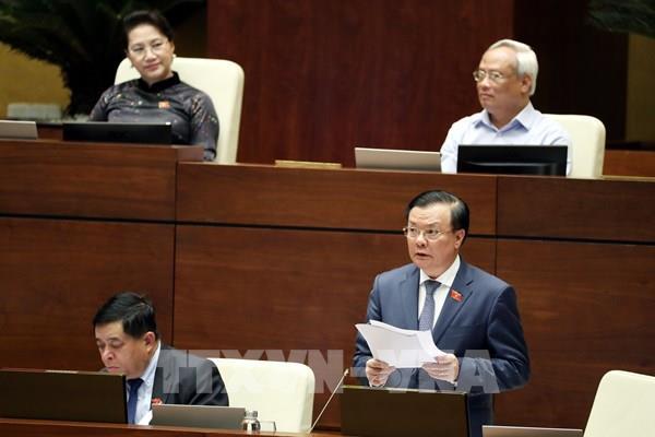 Sáng 16/6, Quốc hội thảo luận về giảm thuế thu nhập doanh nghiệp phải nộp năm 2020