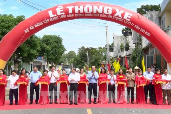 Thông xe dự án nâng cấp mạng lưới giao thông Quốc lộ 217
