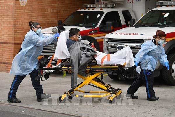 Dịch COVID-19: Số ca tử vong ở Mỹ cao hơn so với Chiến tranh Thế giới thứ nhất