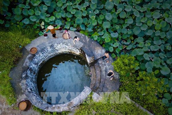 Giếng làng cổ ở Cố đô Hoa Lư - nơi lưu giữ hồn quê Việt