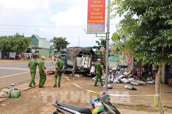 Khởi tố lái xe gây ra vụ tai nạn khiến 5 người chết tại Đắk Nông