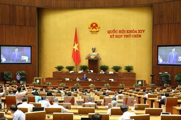 Ngày làm việc cuối cùng của Kỳ họp thứ 9, Quốc hội khóa XIV