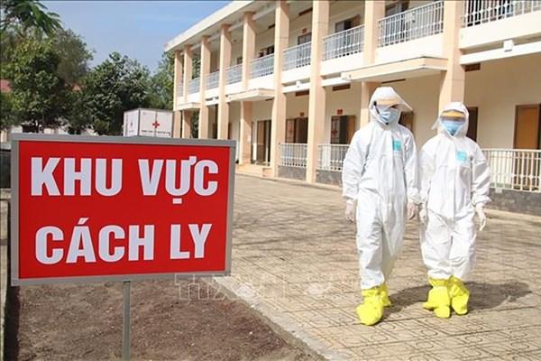 Dịch COVID-19:Việt Nam có 2 ca mắc mới, được cách ly ngay sau nhập cảnh