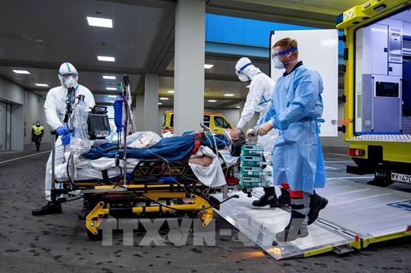 Chỉ số lây nhiễm COVID-19 tại Đức tăng vọt