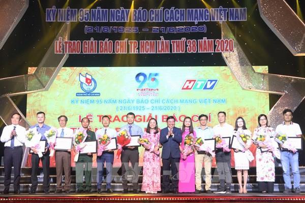 66 tác phẩm được vinh danh tại Lễ trao giải báo chí Thành phố Hồ Chí Minh lần thứ 38