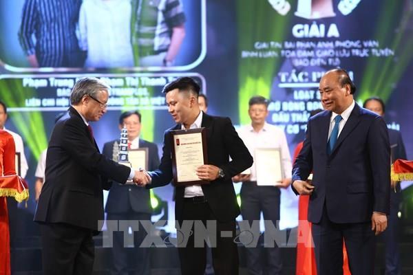 Thông tấn xã Việt Nam đạt 6 giải tại Giải Báo chí Quốc gia lần thứ XIV