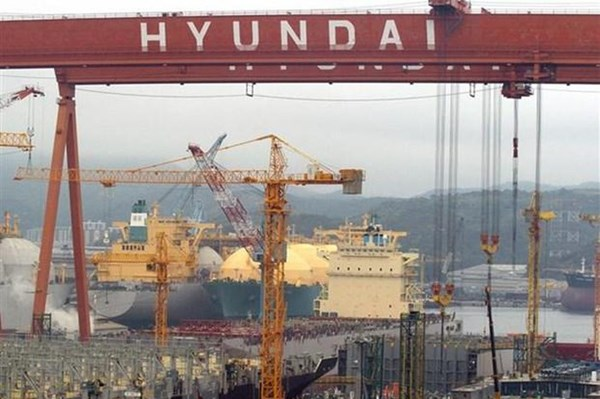 Triển vọng tươi sáng của các doanh nghiệp đóng tàu Hàn Quốc