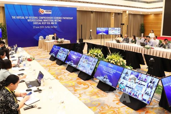Các nước thành viên tái khẳng định ký kết RCEP trong năm nay