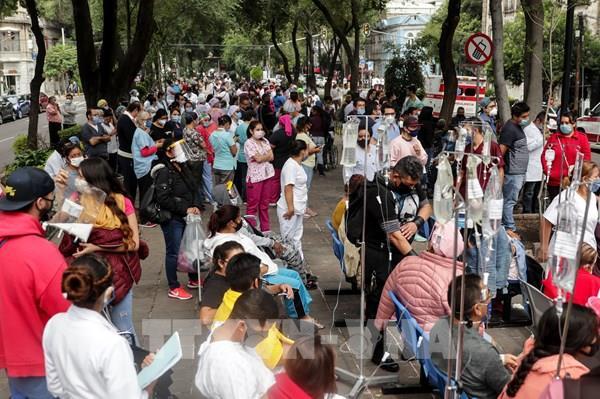 Cập nhật mới nhất tình hình thương vong trận động đất mạnh ở Mexico