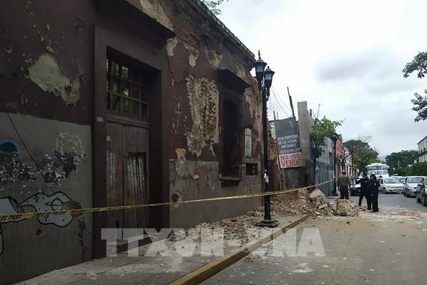 Động đất tại Mexico: Gần 450 dư chấn được ghi nhận sau động đất  