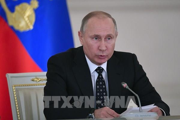 """Tổng thống Putin: Nga sẵn sàng mở cửa đối thoại và hợp tác trong các vấn đề """"nóng nhất"""""""
