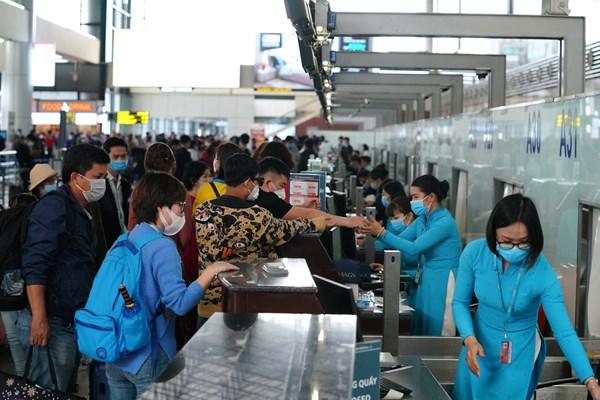 Sân bay Nội Bài đã phục hồi hoàn toàn với lượng khách nội địa hơn 60 nghìn khách/ngày
