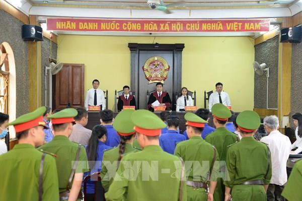 Năm bị cáo kháng cáo bản án sơ thẩm vụ án gian lận điểm thi tại Sơn La
