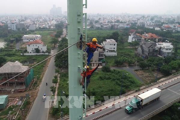 Hoàn thành 70% khối lượng công trình đường dây 220kV Cát Lái – Tân Cảng