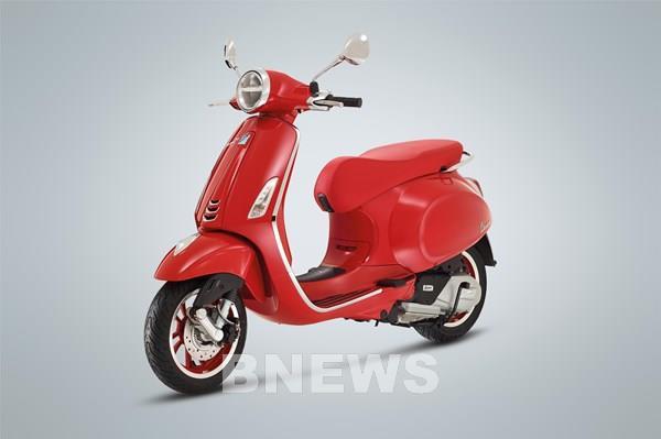 Piaggio Việt Nam ra mắt phiên bản đặc biệt Vespa Primavera RED