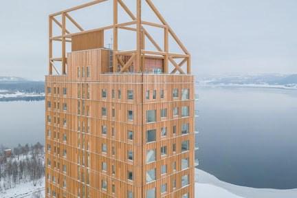 Xây dựng tòa tháp bằng gỗ ép cao nhất thế giới tại Australia