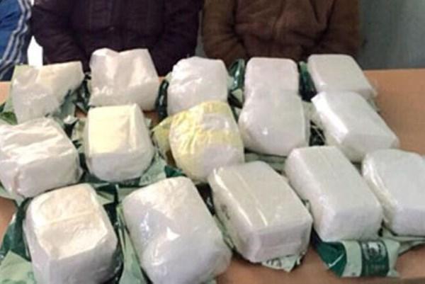 Hà Tĩnh: Bắt giữ hai đối tượng vận chuyển trái phép 31 kg ma túy bằng xe ô tô