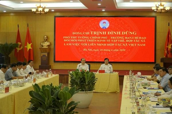 Phó Thủ tướng Trịnh Đình Dũng: Cơ chế chính sách hợp lý giúp hợp tác xã phát triển