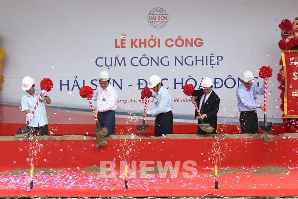 Khởi công xây dựng cụm công nghiệp Hải Sơn