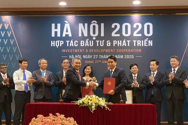 UBND Tp. Hà Nội và Vietnam Airlines ký biên bản ghi nhớ hợp tác phục hồi du lịch Thủ đô