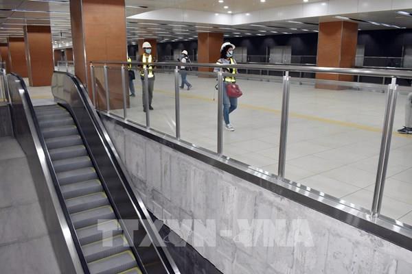 Phó Thủ tướng Phạm Bình Minh khảo sát dự án tuyến metro Bến Thành – Suối Tiên