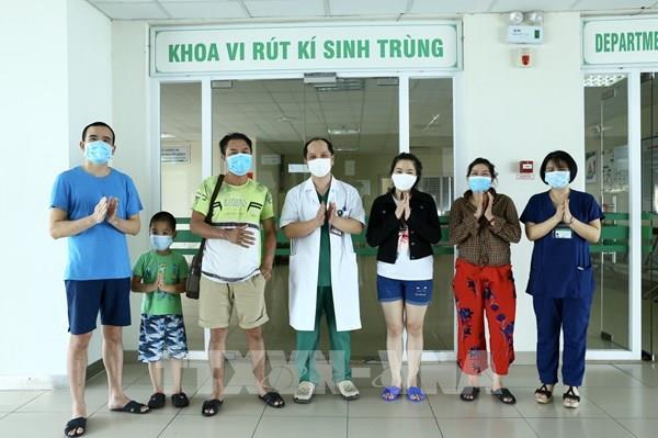 Việt Nam không ghi nhận ca mắc COVID-19 mới