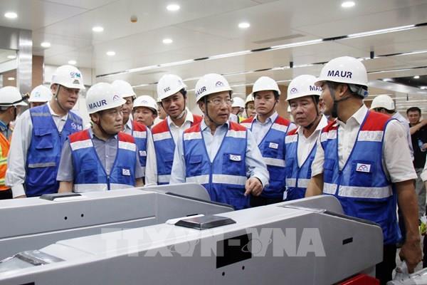 Tp Hồ Chí Minh đề xuất sớm gỡ khó cho tuyến Metro số 1
