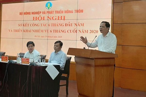 Bộ trưởng Nguyễn Xuân Cường: Không thay đổi chỉ tiêu tăng trưởng toàn ngành
